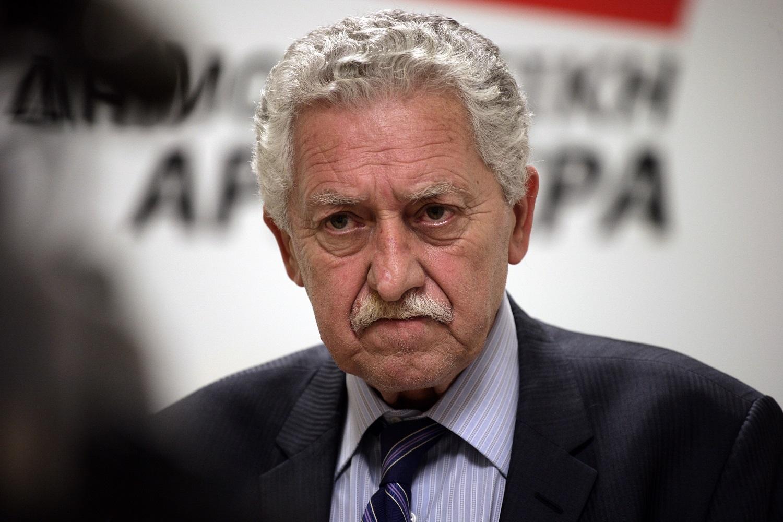 The leader of DIMAR (Democratic Left) Fotis Kouvelis / Ï Ðñüåäñïò ôçò ÄÇÌÁÑ Öþôçò ÊïõâÝëçò