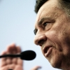 Leader of Popular Orthodox Rally (LAOS) Giorgos Karatzaferis delivers pre-election speech in Thessaloniki, Greece on January 17, 2015. / ??????????? ?????? ??? ??????? ??? ???? ??????? ??????????? ???? ??????????? ???? 17 ?????????? 2015.