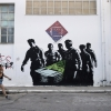 Greece Crisis On The Wall