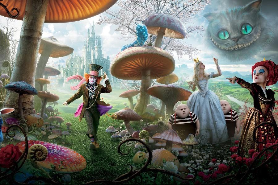 -font-b-ALICE-b-font-IN-WONDERLAND-2010-Fairytale-Fantasy-E-font-b-Movie-b
